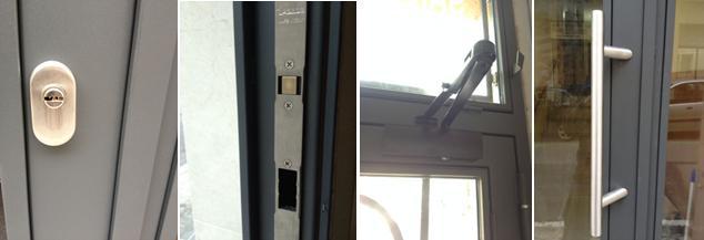 Accesorios puerta hierro