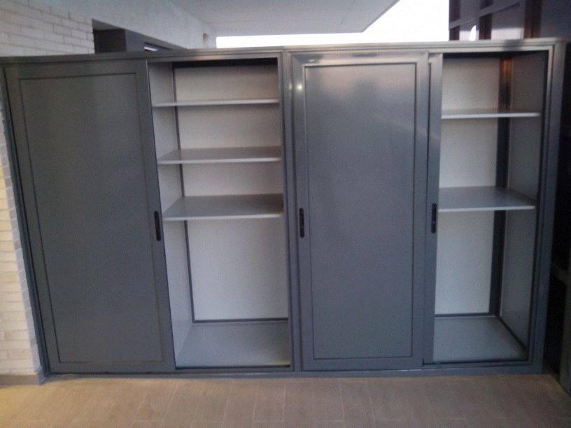 Armarios exteriores carpinteria de aluminio instalum d m - Armarios de pvc para exterior ...