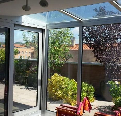 Cerramiento con Vidrio Control Solar