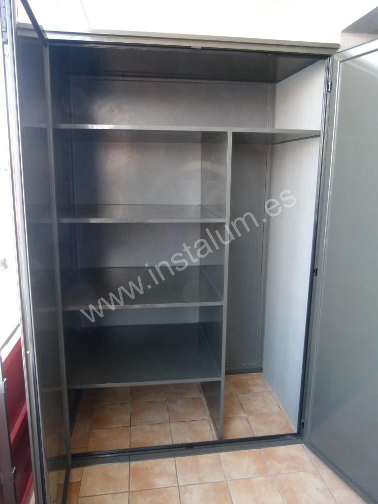 armario de terraza armario terraza carpinteria de aluminio instalum d m